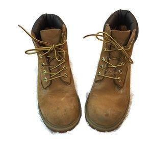 TIMBERLAND Boy's Wheat Lace up Boots- A